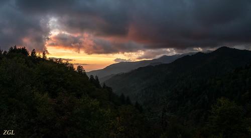 sunset unitedstates tennessee gatlinburg newfoundgap greatsmokymountainnationalpark 1309292243