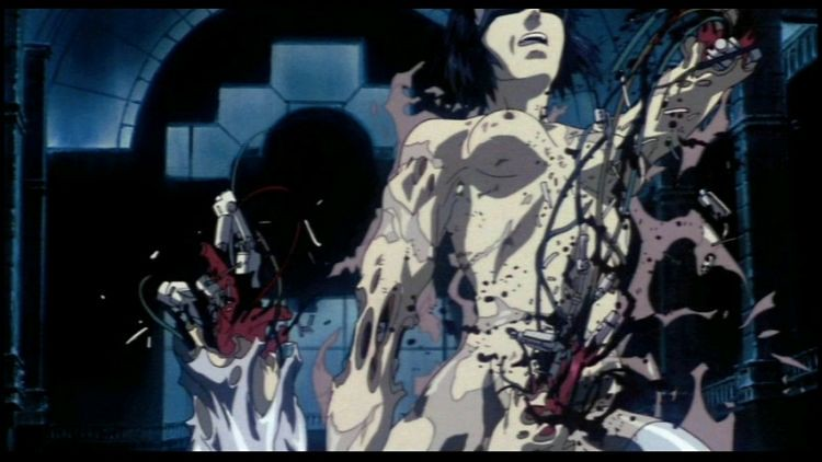 Ghost In The Shell Ending Scene This Image Shows Motoko Ku Flickr
