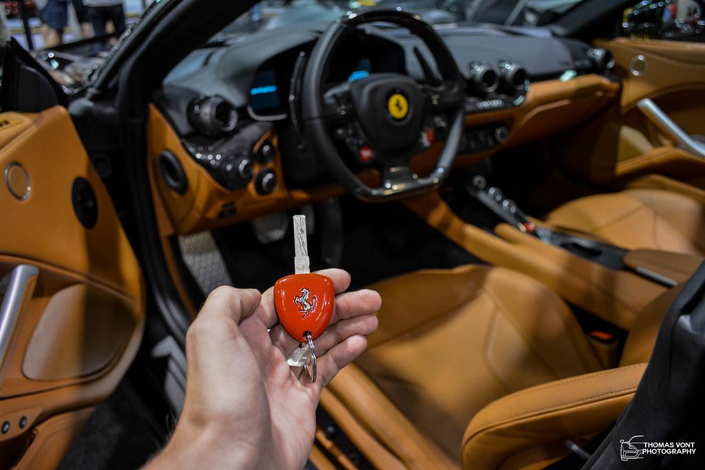 Ferrari F12 Berlinetta Key and Interior