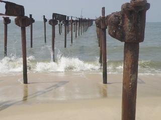 Alleppey Beach   by Sajan Mullappally