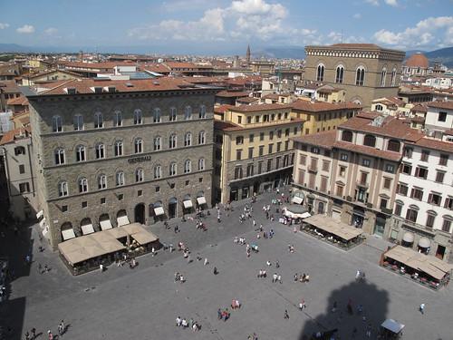 Piazza della Signoria a Firenze (Toscana)