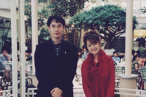 Japanese famous actress - ADACHI Yumi.(1999)