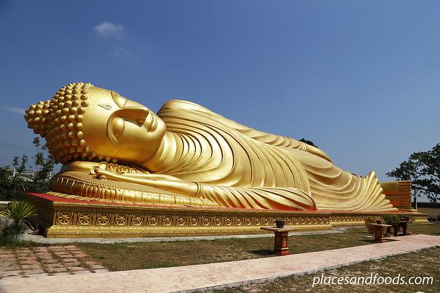 Wat Phranon Laem Pho reclining buddha ko yo