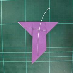 วิธีพับกระดาษเป็นนกพิราบแบบง่าย (Easy Origami Pigeon) 009