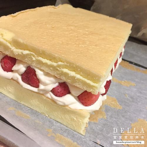草莓鮮奶油海綿蛋糕 (14) | by DellaKuo