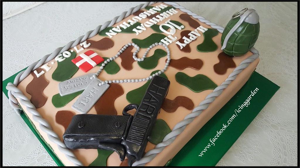 Admirable Army Birthday Cake Birthday Cake 10 The Birthday Cake Flickr Funny Birthday Cards Online Alyptdamsfinfo