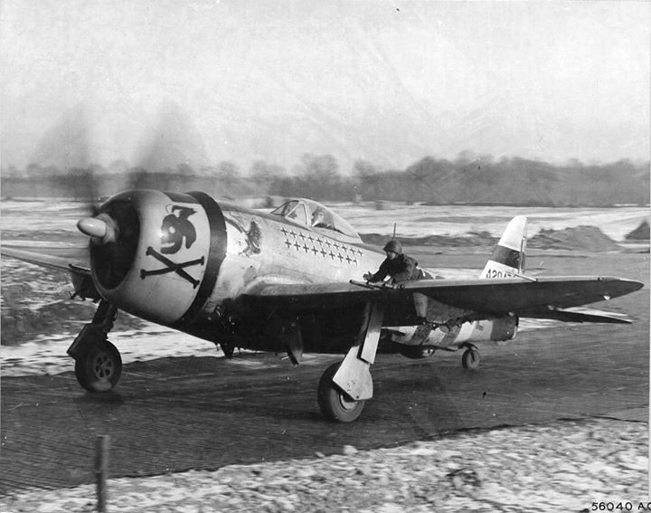 P-47D Thunderbolt of the 353rd Fighter Squadron