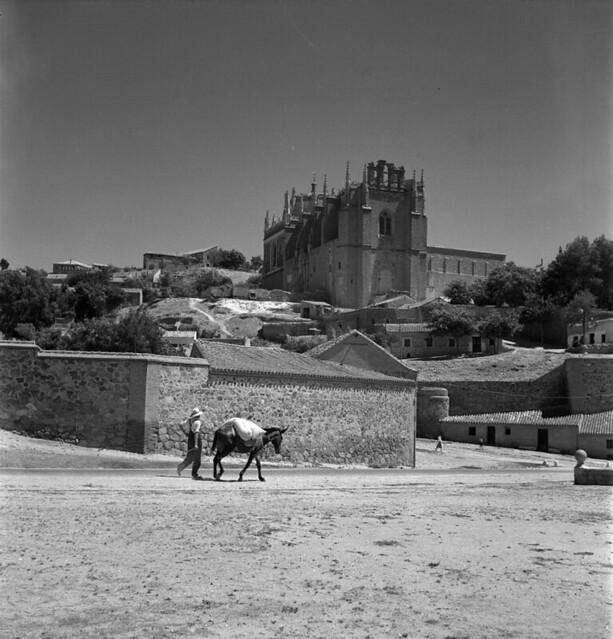 Vistillas de San Agustín en Toledo en los años 50. Fotografía de Nicolás Muller  © Archivo Regional de la Comunidad de Madrid, fondo fotográfico