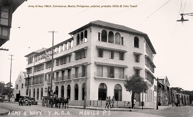 Army & Navy YMCA, Intramuros, Manila, Philippines, undated, probably 1920s