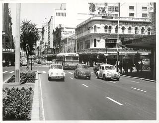 Fiats in Queen Street, Auckland