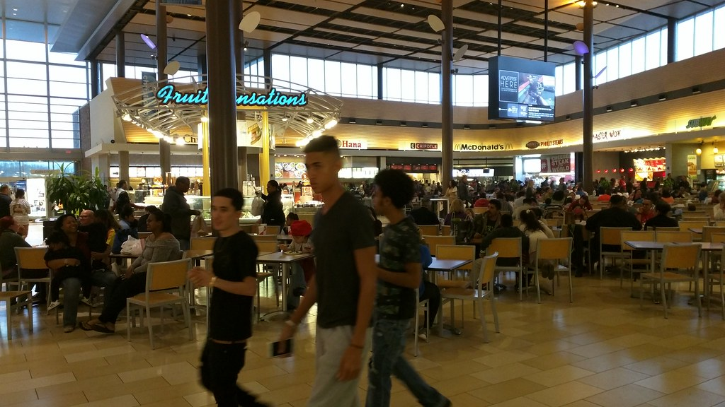 Christiana Mall Food Court Christiana Mall Newark De Flickr
