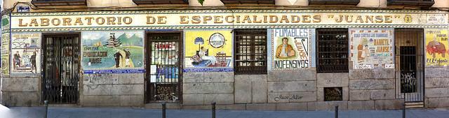 Azulejos. Farmacia Juanse (Madrid)