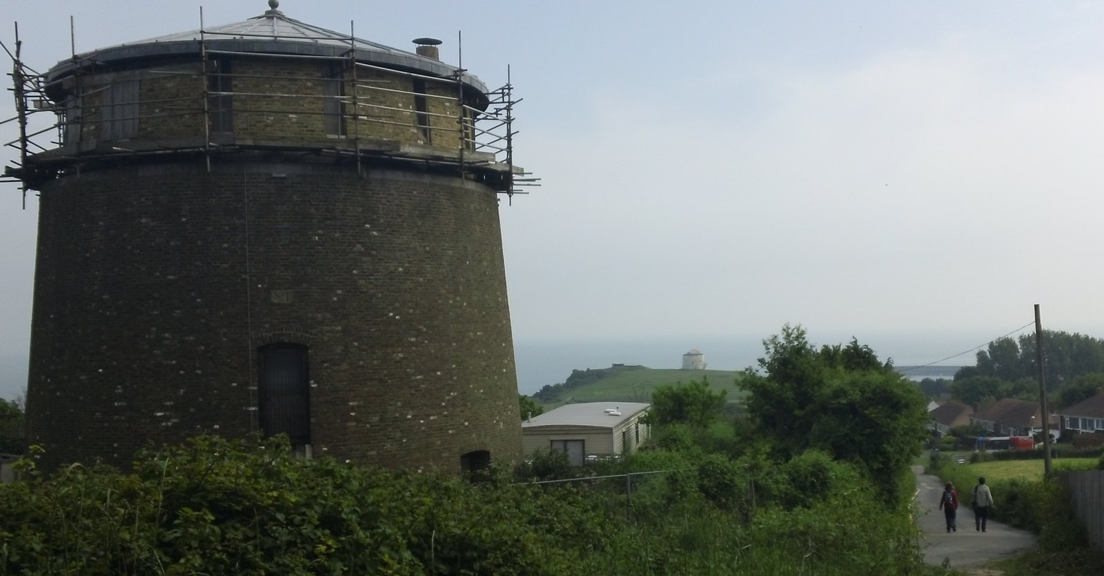 FOLKSTONE coastal view MARTELLO Twin Towers