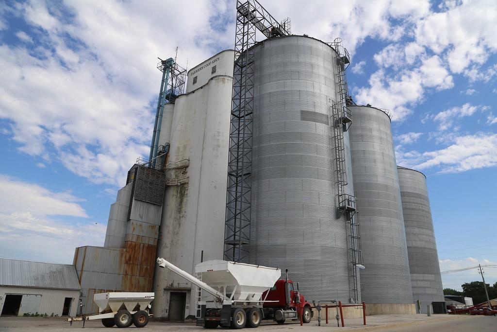Forest City Iowa, Grain Elevator, Winnebago County IA   Flickr