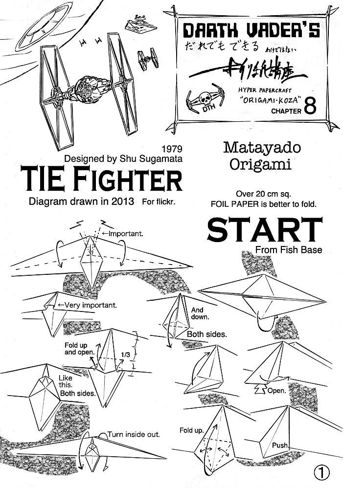 Star wars paper plane   Star wars origami, Star wars crafts ...   1000x701
