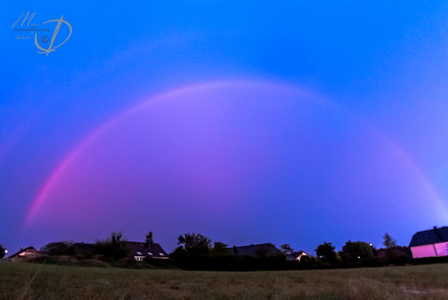 sunset rainbow luxembourg rambrouch