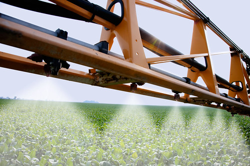 Spraying a Soybean Field | by UnitedSoybeanBoard