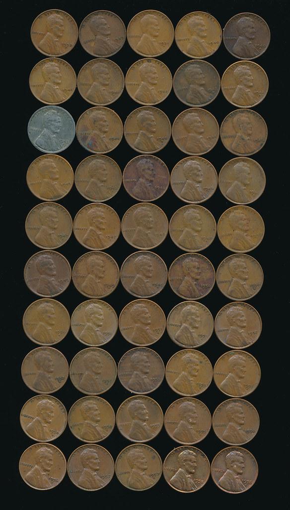 RD6063 Pennies 1938-1958 01