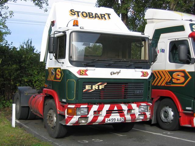 J499AAO H400 Eddie Stobart ERF 'Cheryl'
