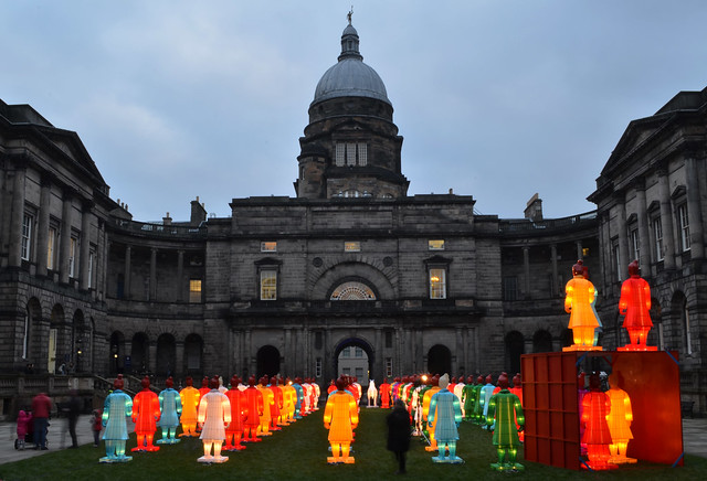 The Lanterns of the Terracotta Warriors