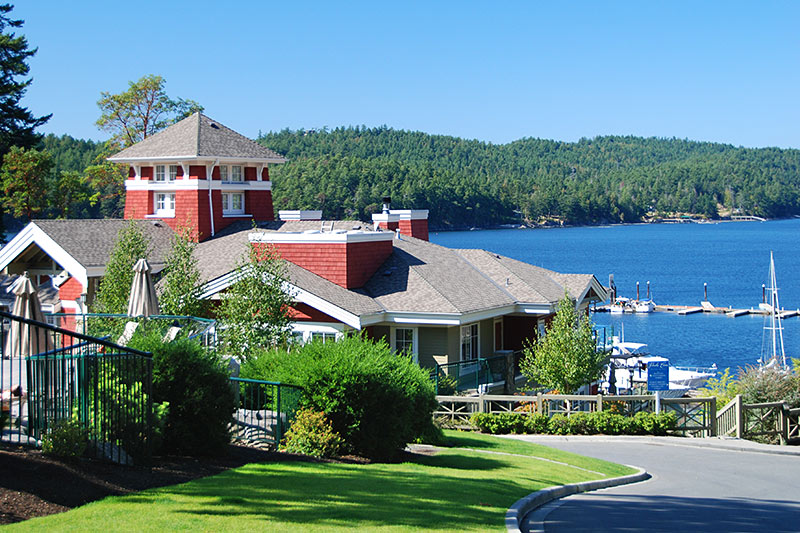 Poets Cove Resort & Marina, Pender Islands, Gulf Islands, Georgia Strait, British Columbia, Canada
