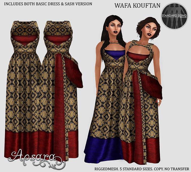 Wafa 2 gown design