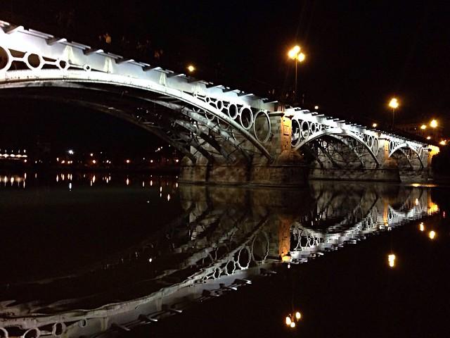 Pont de Triana o Isabel II. Puente de Triana. Triana Bridge. Sevilla Séville Seville
