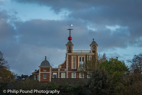 Flamsteed House in Greenwich Park