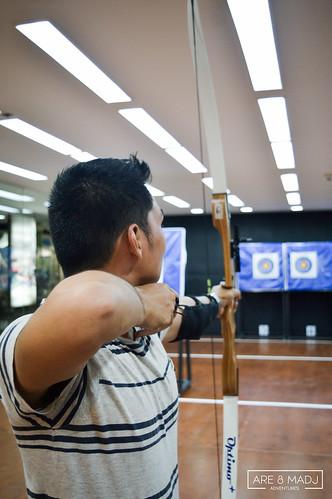 Kodanda Archery Range Eastwood   by Are & Madj Adventures