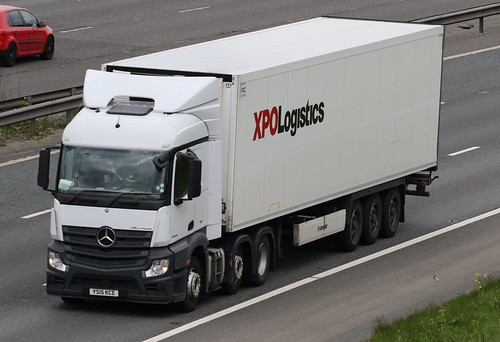 XPO Logistics Mercedes Actros | by RussellHarryLee