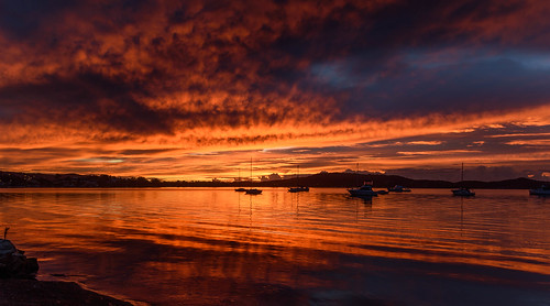 color nature water beauty boats background newsouthwales red nsw brisbanewater scenic sky view dream sunrise australia reflections tascott weather clouds koolewong scene scenery beautiful travel orange light landscape bay waterscape dawn coast coastal centralcoast