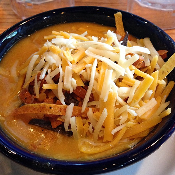 Chicken Enchilada Soup | Tasty Canned Chicken Recipes That Are Easy to Whip | recipes using canned chicken