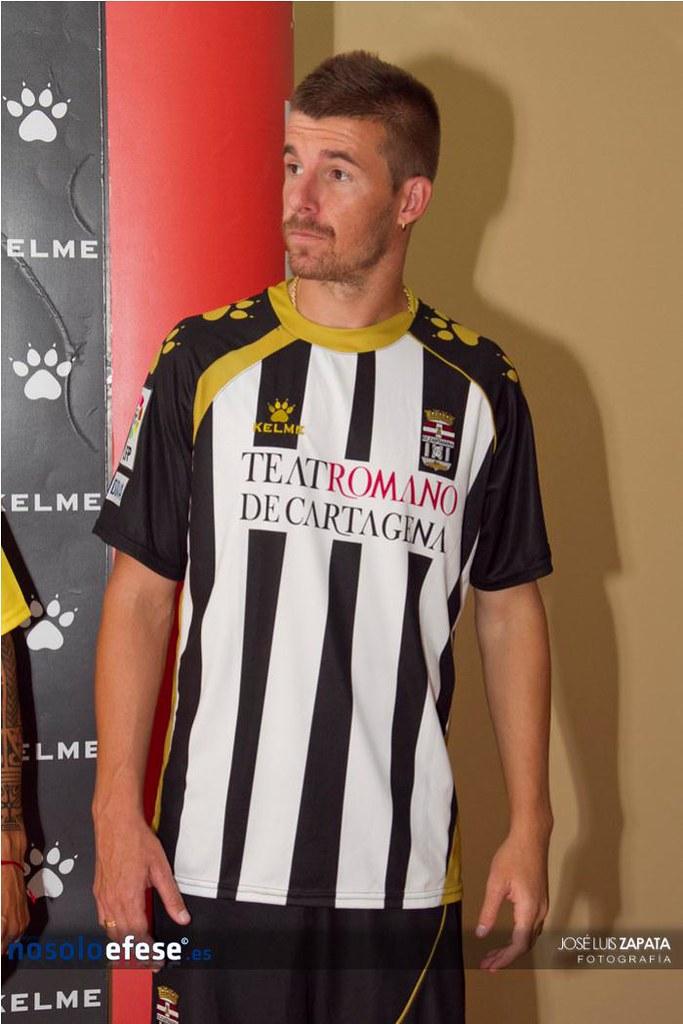 11-08-2011 - Presentación equipaciones FC Cartagena Temporada 2011/2012