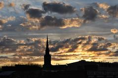 St Paul's Church sunset