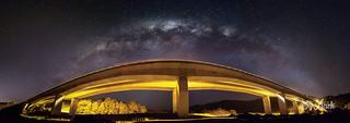 Bridge to the Milky Way panorama | by Mikey Mack