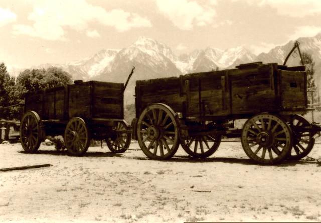 Ore Cars, Eastern Sierras