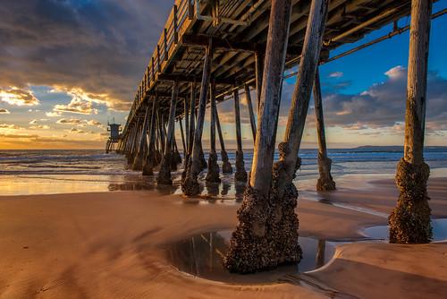 california beach pier sandiego ib imperialbeach imperialbeachpier ibpier nikon2470mm nikond800