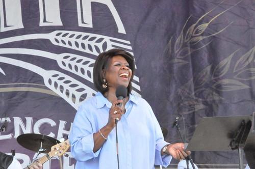 Irma Thomas at French Quarter Fest.  Photo by Kichea S Burt.