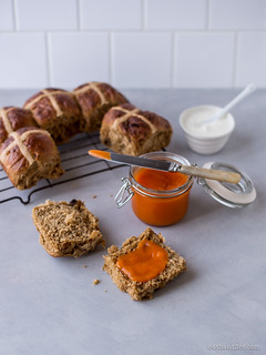 Sticky Date & Chai Hot Cross Buns | by 84thand3rd