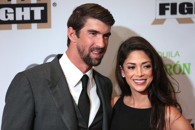 Michael Phelps & Nicole Johnson