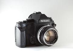 Nikkor 5.8cm f/1.4 on a Nikon Df