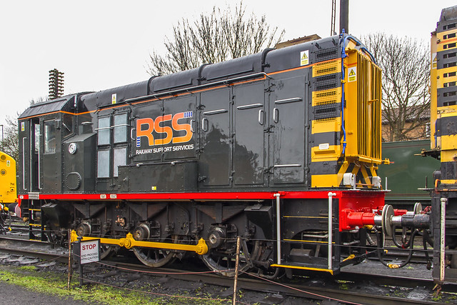 Railway Support Services Class 08 No. 08480
