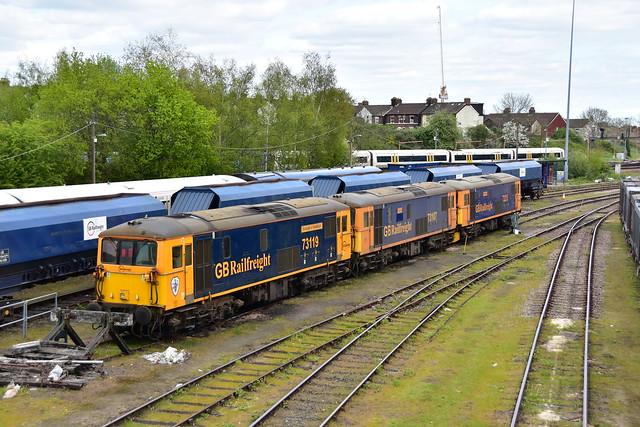 73213, 73107, 73119 Tonbridge Yard