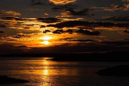 sunset solnedgang sky golden østfold røsneskilen halden norge norway