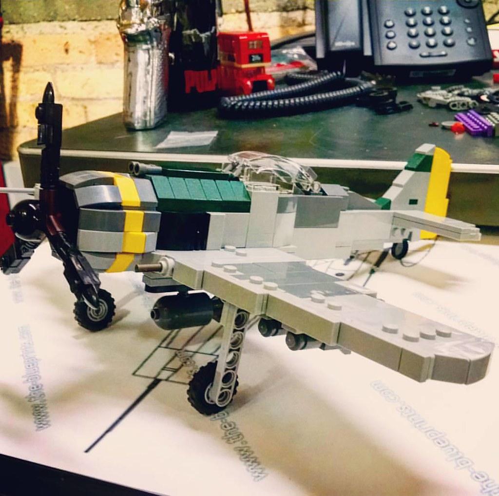 Focke Wulf Fw 190 F-8 prototype  #lego #brickmania #custom