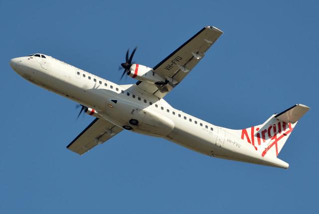 VH-FVU 'Double Island Point' ATR 72-500 (ATR-72-212A) Virgin Australia (Skywest Airlines)