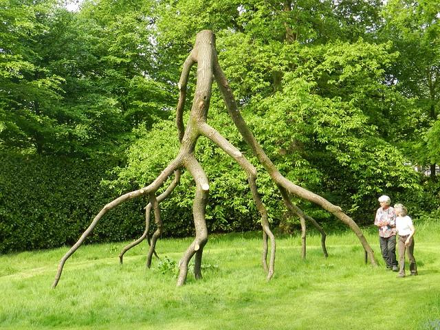 Dead Tree Upside-Down by Mari Shields