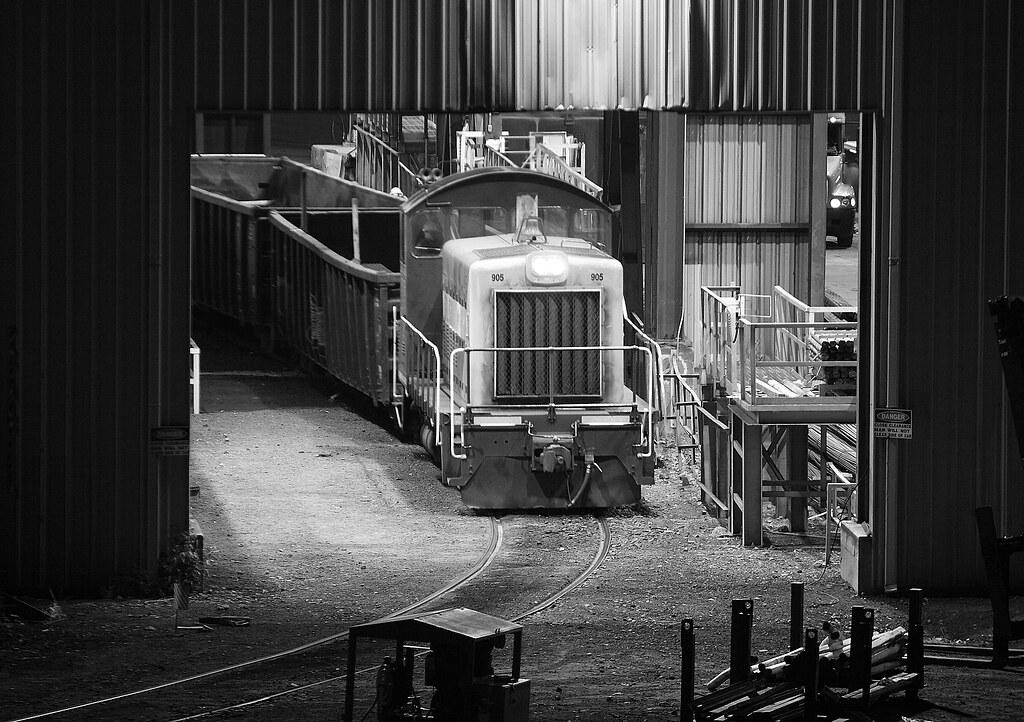 CMC Steel | RLCX SW900 #905 inside the CMC Steel Mill in Oct… | Flickr