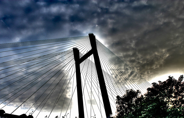 Clouds and the Bridge