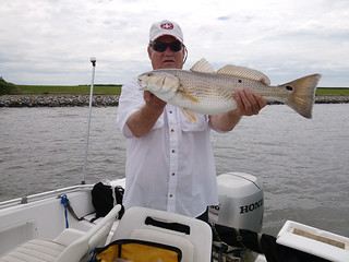 Photo of Man holding red drum